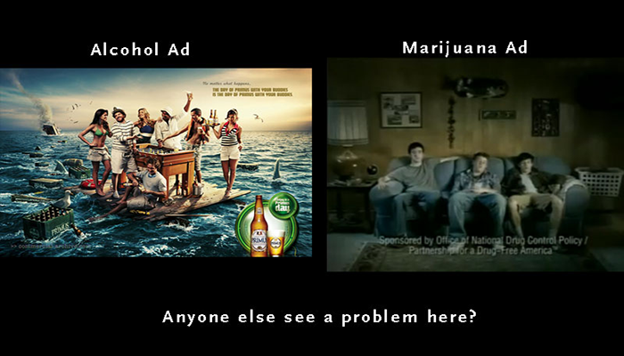 antii marijuana advertisement