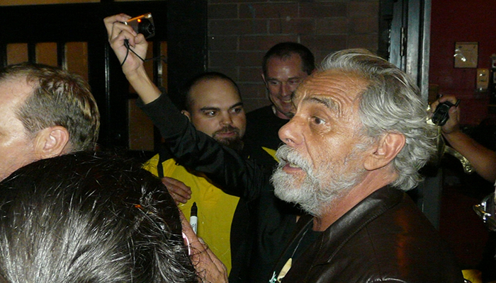 Distressed Tommy Chong