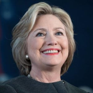Hillary Clinton ( Democratic Candidate)
