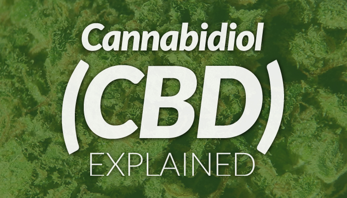 graphic of CBD oil